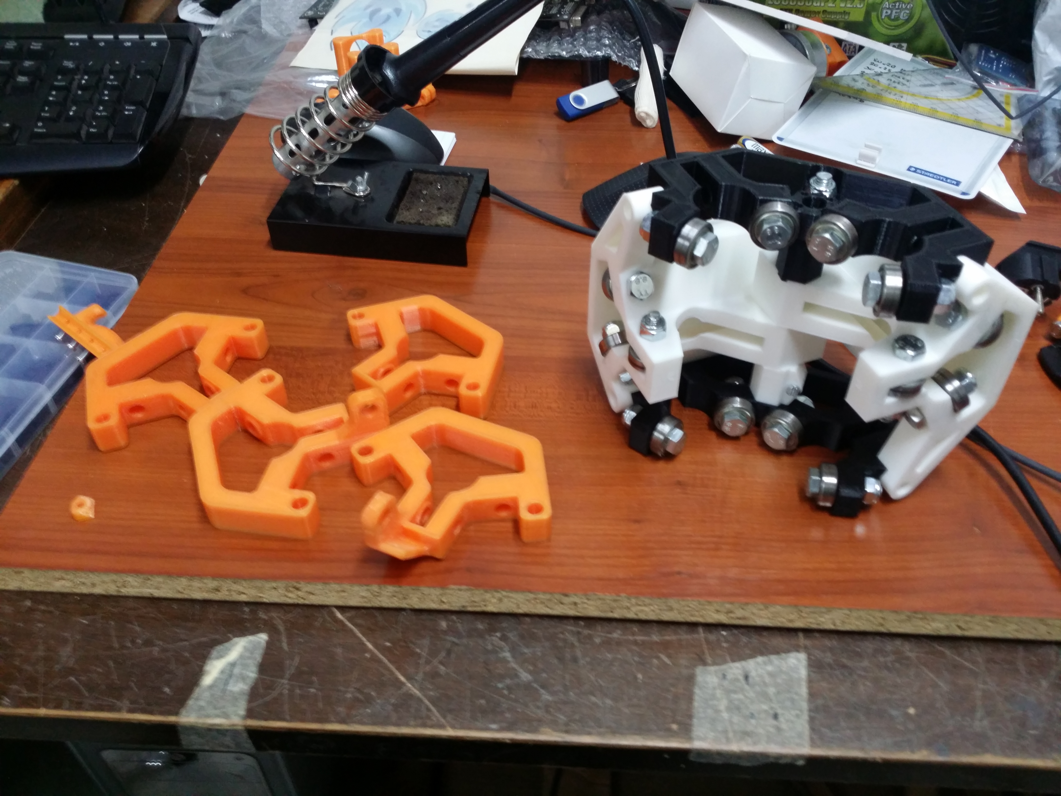 CNC milling mostly printed CNC- by S7design