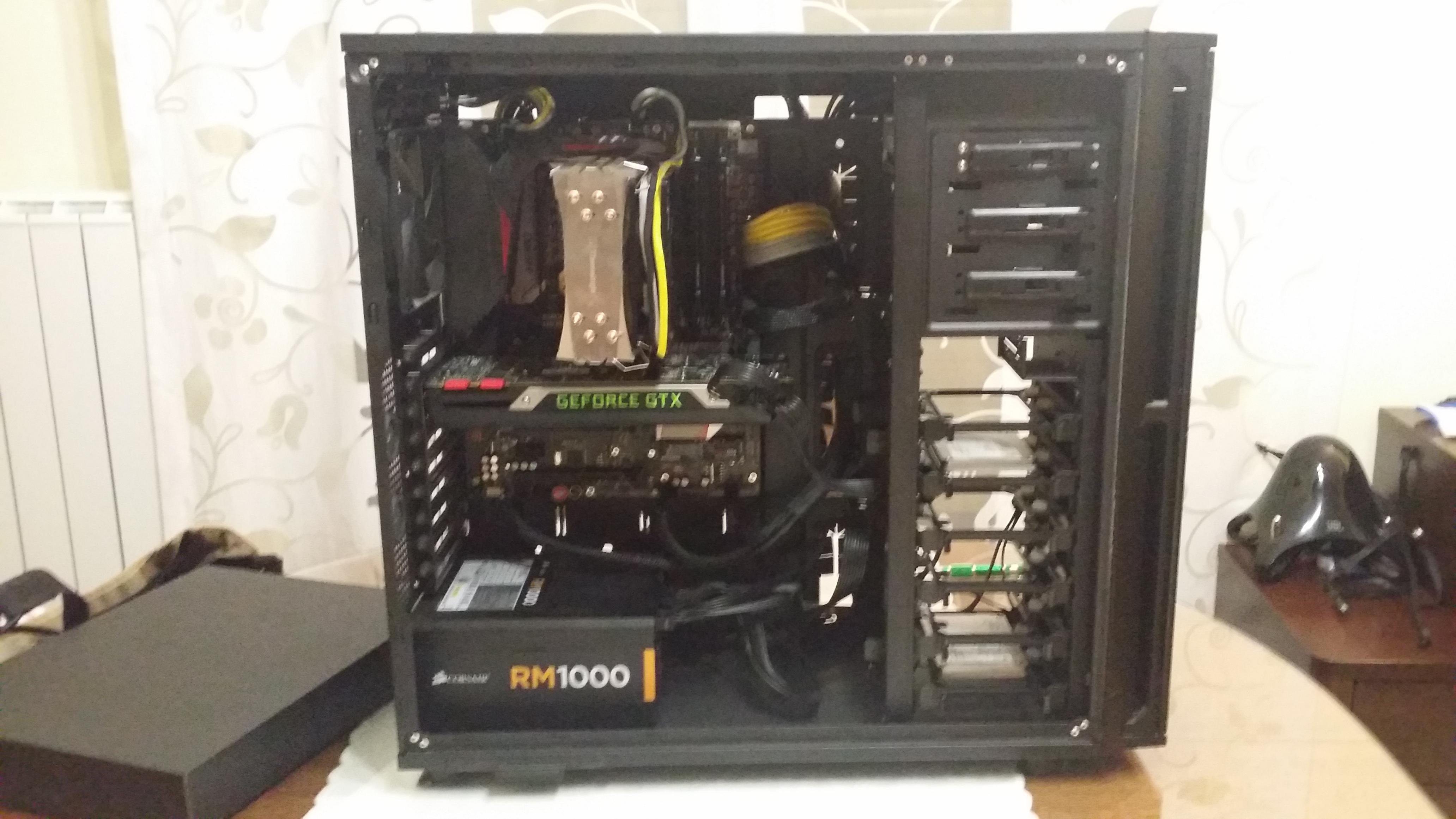 5th main PC. z170, it 6700K, Nvidia TITAN x, Samsung PRO 950 NVMe, ASUS ROG